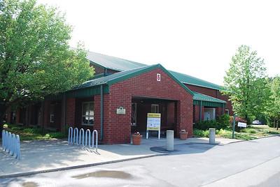 Entrance to senior center.