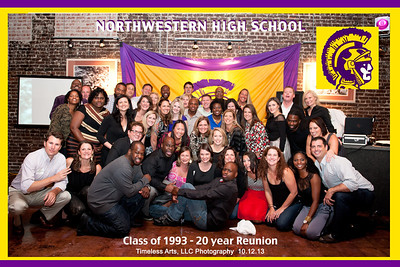 Northwestern High Class Reunion group pic