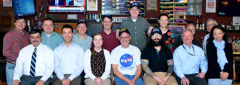 Back L to R: Ed, Shane, Mark, Dave, Kevin, Sarah, Larry, Dart  Front L to R - Mike, Stephen, Pamela, Laurence, Kyle, Greg, Junghwa