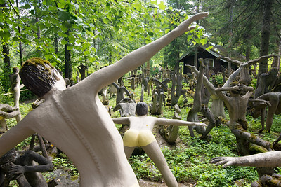 Parikkala sculpture park