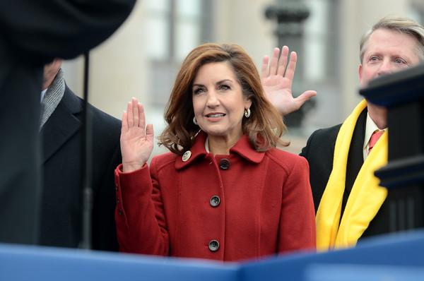 Joy Hofmeister takes oath of office