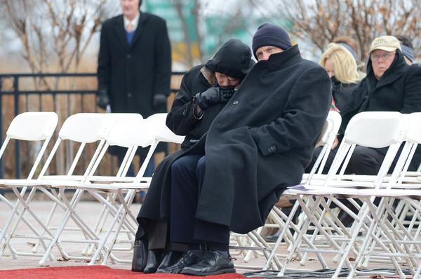 Gov inauguration weather shot
