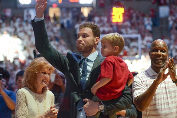 Blake Griffin Jersey ceremony