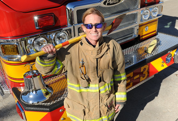 First Female Firefighter