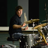 The band Gooding performs for students at Norman North High School