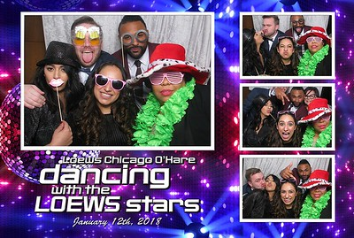 Loews Hotel O'Hare - Holiday Party 2017 (Enclosed booth)