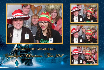 Logansport Memorial - Employee Christmas Tea 2017
