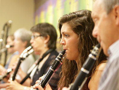 Norman Clarinet Choir at Vet Center