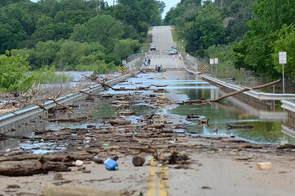 Flooding around Lake Thunderbird