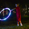 Knight Gossett plays with a hula-hoop, Saturday, April 23, 2016, during Norman Music Festival 9. (Kyle Phillips / The Transcript)