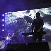 Small Black keyboardist Ryan Heyner performs with the band on the Toyota Fowler Main Stage, Saturday, April 23, 2016, during Norman Music Festival 9. (Kyle Phillips / The Transcript)