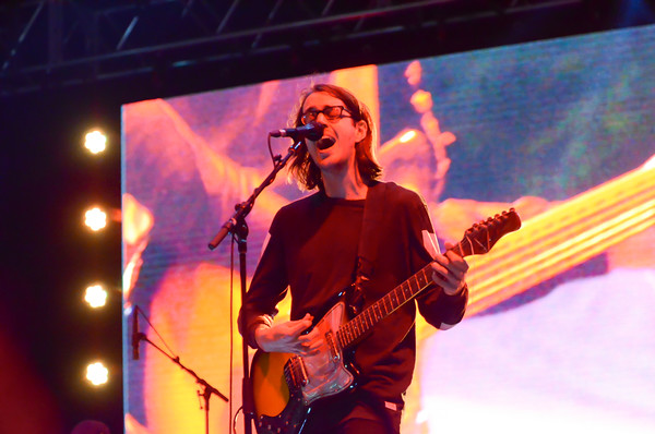 Cloud Nothing performs on the Fowler Toyota Main Stage, Saturday, April 23, 2016, during Norman Music Festival 9. (Kyle Phillips / The Transcript)