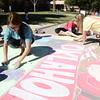OU sidewalk chalk competition