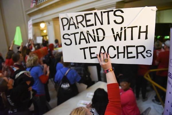 Teacher Walkout Day 2