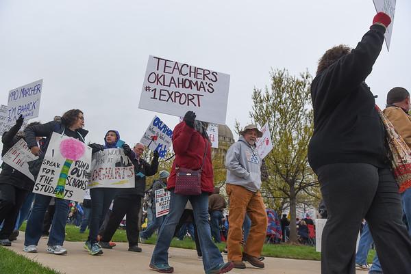 Oklahoma Teacher Walkout