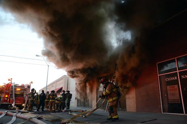 Building burns