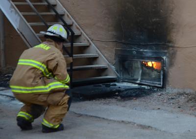 Salon burns in Downtown Norman