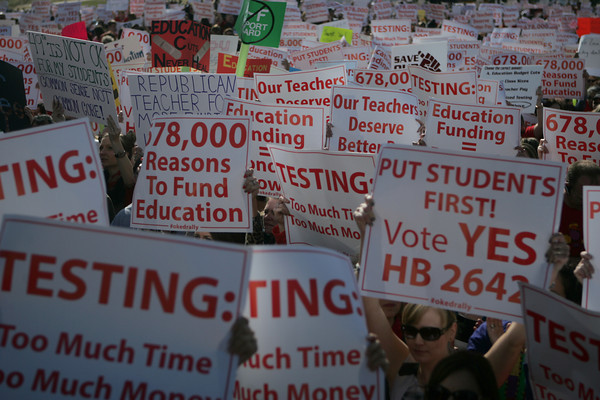 Teacher rally 4