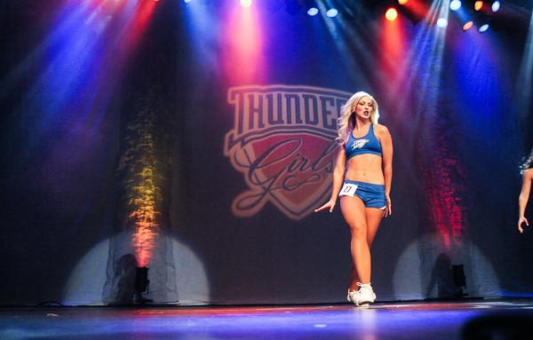 Thunder Girl Final Auditions