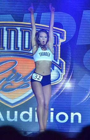 Thunder Girls Final Auditions
