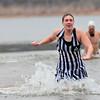 Triathletes Plunge in to Lake Thunderbird