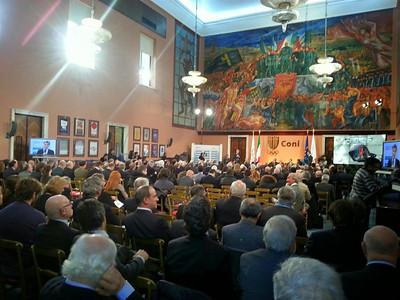 Consegna Collari d'Oro e Diplomi d'Onore CONI