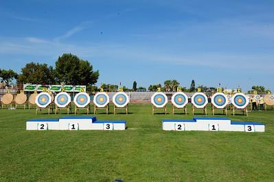 Giorno 1 - Qualifica  Olimpico e Compound foto Filippo Corsini