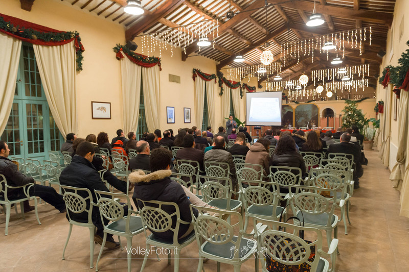 Riunione tecnica Ufficiali di Gara e Cena - FIPAV Perugia (id: 2013.12.19._MBD6116)