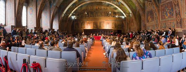 Sir Safety Perugia, Sala dei Notari