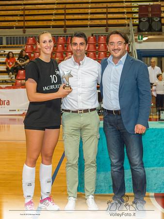 Giulia Agostinetto miglior giocatrice del torneo