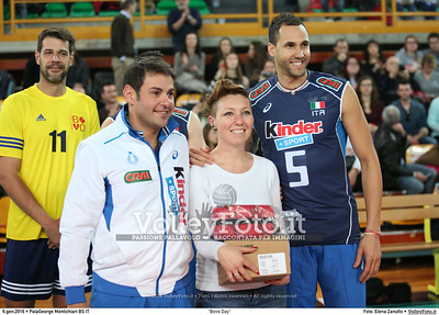 """Bovo Day"" Nazionale Italiana - Amici del Bovo,  in memoria di Igor Bovolenta.  PalaGeorge di Montichiari BS, 06.01.2016 FOTO: Elena Zanutto © 2016 Volleyfoto.it, all rights reserved [id:20160106.4B2A7134]"
