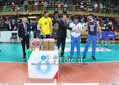 """Bovo Day"" Nazionale Italiana - Amici del Bovo,  in memoria di Igor Bovolenta.  PalaGeorge di Montichiari BS, 06.01.2016 FOTO: Elena Zanutto © 2016 Volleyfoto.it, all rights reserved [id:20160106.9C3A4715]"