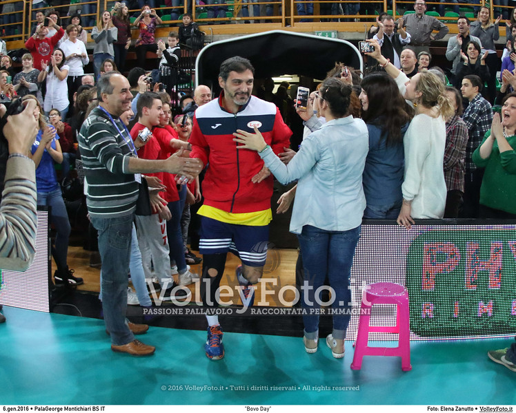"""""""Bovo Day"""" Nazionale Italiana - Amici del Bovo,  in memoria di Igor Bovolenta.  PalaGeorge di Montichiari BS, 06.01.2016 FOTO: Elena Zanutto © 2016 Volleyfoto.it, all rights reserved [id:20160106.9C3A4784]"""