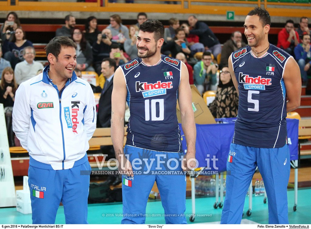 """Bovo Day"" Nazionale Italiana - Amici del Bovo,  in memoria di Igor Bovolenta.  PalaGeorge di Montichiari BS, 06.01.2016 FOTO: Elena Zanutto © 2016 Volleyfoto.it, all rights reserved [id:20160106.4B2A7081]"