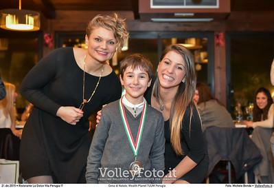 Cena di Natale, Wealth Planet TUUM Perugia Ristorante La Dolce Vita Perugia, 21.12.2015 FOTO: Michele Benda © 2015 Volleyfoto.it, all rights reserved [id:20151221.MB2_0609]