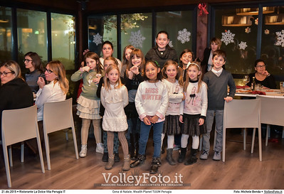 Cena di Natale, Wealth Planet TUUM Perugia Ristorante La Dolce Vita Perugia, 21.12.2015 FOTO: Michele Benda © 2015 Volleyfoto.it, all rights reserved [id:20151221.MB2_0589]
