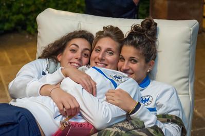 Laura Loddo, Alice Lo Cascio, Gloria Santin