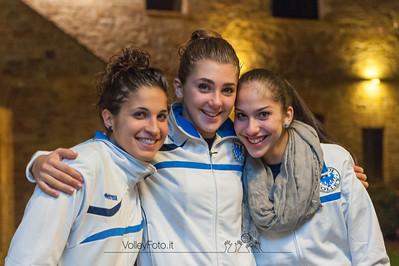 Gloria Santin, Giulia Ribelli, Rachele Pericolini