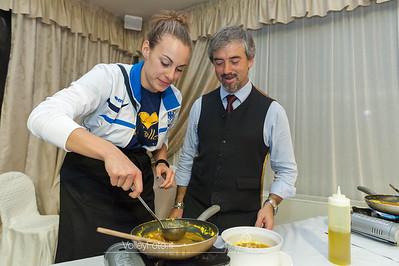 Giorgia Quarchioni ai fornelli!