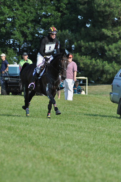 Doug Payne and Running Order, CIC**