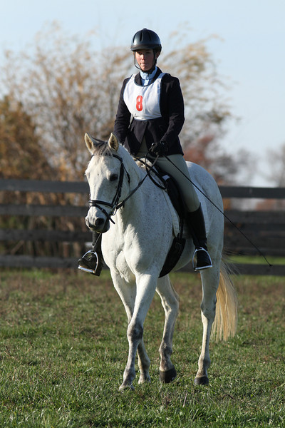 #08 Viticus and Elizabeth at The Flying Cross Mini Horse Trial. 11.12.2011