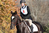 #09 New Dealer and Collyn at The Flying Cross Mini Horse Trial. 11.12.2011