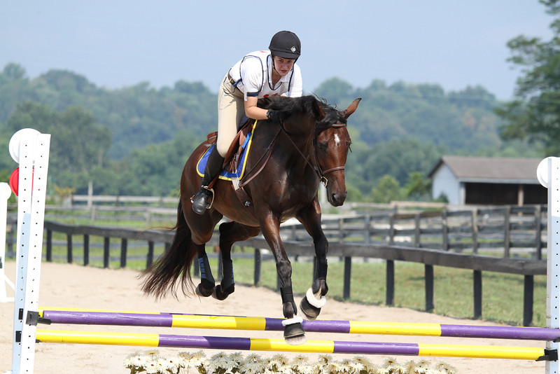 Clara and Adrienne Bushau at Stone Place Stables Mini Trial 07.31.2011.