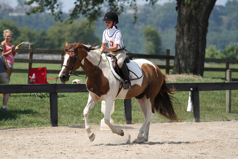 Angel and Mary Quinn at Stone Place Stables Mini Trial 07.31.2011.