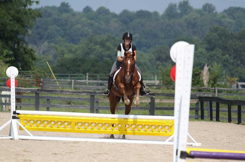 Just Plain Curious and Amanda Morel at Stone Place Stables Mini Trial 07.31.2011.