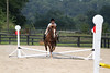 Whisper and Sarah Bermamini at Stone Place Stables Mini Trial 07.31.2011.