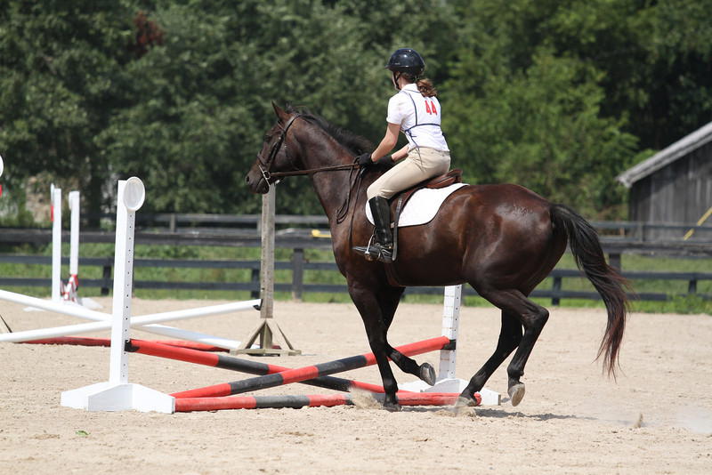 Marco and Kaileigh Nida at Stone Place Stables Mini Trial 07.31.2011.