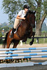 Maverick with Danielle Horrell at Stone Place Stables Mini Trial 07.31.2011.