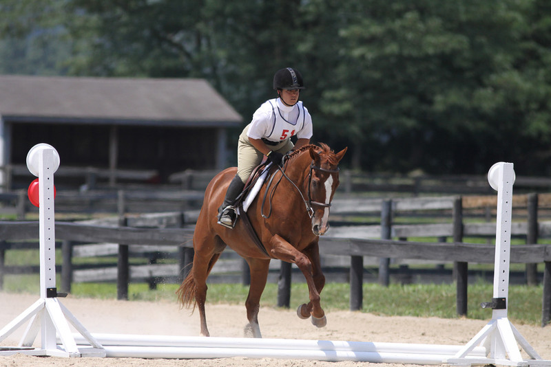 Zaya with Becca Lusignolo at Stone Place Stables Mini Trial 07.31.2011.