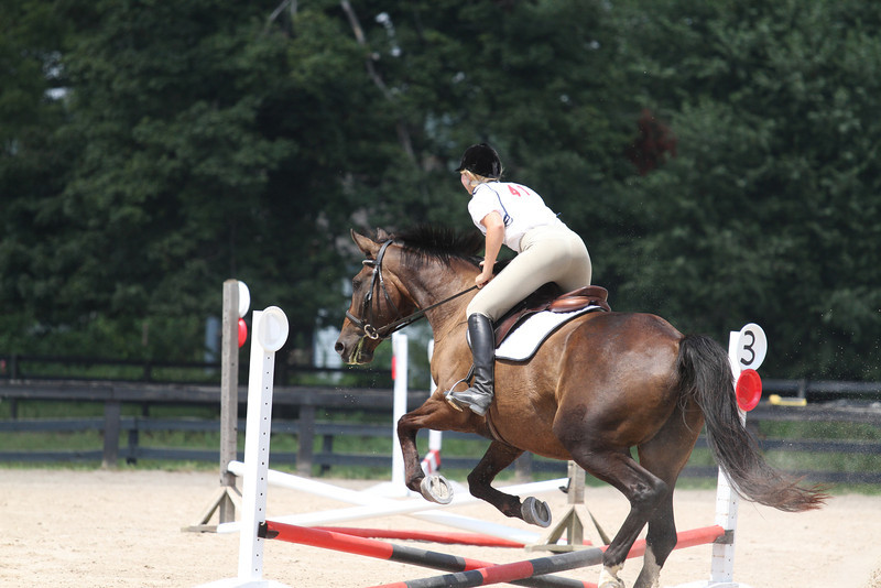 Phantom and Kayla Sellers at Stone Place Stables Mini Trial 07.31.2011.